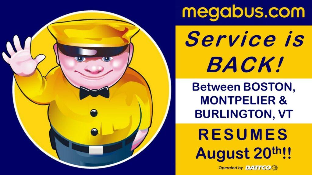 Megabus Resumes Rv1